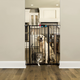 Carlson Pet Black Extra Tall Gate with Pet Door