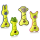 Charming Pet Lil Racquets Dog Toy Pig
