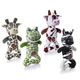 Charming Pet Patches 2.0 Dog Toy Zebra
