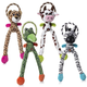 Charming Pet Thunda Blaster Dog Toy Zebra