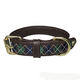 Halo Buffy Leather Dog Collar Small White/Hunter