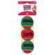 KONG Holiday SqueakAir Balls 3 Pack Dog Toy