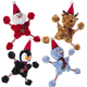 Charming Pet Christmas Star Baby Dog Toy Snowman