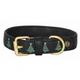 Halo Christmas Tree Leather Dog Collar Small