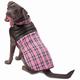 Petrageous Vail Plaid Dog Vest XSmall Pink