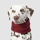 Canada Pooch Sierra Dog Scarf Small Maroon