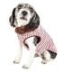 Pet Life Luxe Beautifur Mink Fur Dog Coat XSmall