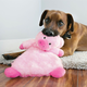 KONG Low Stuff Tuffluxe Dog Toy Small Pig