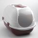 Moderna Mega Comfy Multi-Cat Litter Box Raspberry