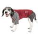 Pet Life Active Hybreed Dog Tee XSmall Teal/Grey