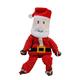 KONG Holiday Floppy Knots Large Santa Dog Toy
