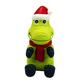 KONG Wiggi Small Alligator Santa Dog Toy
