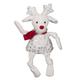 Hugglehounds Sparkle n Shine Reindeer Knottie Toy