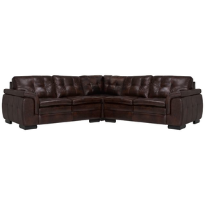 Fantastic Trevor Dark Brown Leather Sofa Living Room Sofas City Gmtry Best Dining Table And Chair Ideas Images Gmtryco