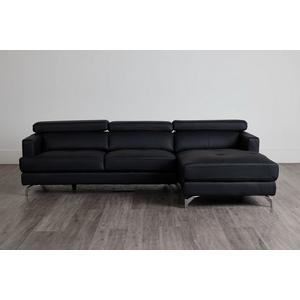 Marquez Taupe Micro Right Chaise Sectional | Living Room ...