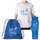Youth T-shirt, Sports Bottle and Drawstring Backpack Kits