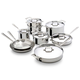 All-Clad D5 Polished 15 Piece Cookware Set