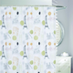 Landmark Fabric Shower Curtain