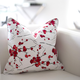 Red Blossom Cushion