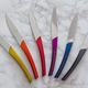 Guy Degrenne Quartz Multicolor Steak Knives