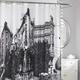 Paris Fabric Shower Curtain
