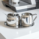 Creamer and Covered Sugar Bowl by Cuisinox