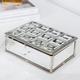 Mirrored Tile Top Jewelry Box