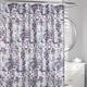 Seurat Blocks Fabric Shower Curtain