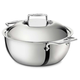 All-Clad D5 Polished 5.5 qt Dutch Oven With Lid