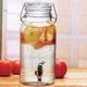 Lancaster Beverage Dispenser with Hermetic Lid