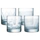 Set of 4 Lounge Club DOF Glasses