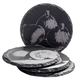 « Savoir Faire » Set of 4 Slate Coasters
