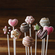 Trudeau La Pâtisserie Set of 24 Cake Pop Sticks