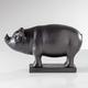 Whimsy Market Pig Decorative Figurine