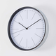 Purist Wall Clock Chrome