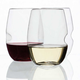 Govino Set Of 4 Stemless Wine Glass