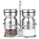 Cuisinox Salt, Pepper Or Spice Shaker Set With Caddy
