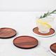 Set Of 4 Wood Coasters by Kate Spade
