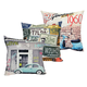 Hotel Retro Cushion Cover - Assorted