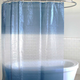 Drizzle Ombre Peva Shower Curtain