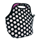 Neoprene Polkadot Lunch Bag