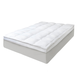White Down and Feather Mattress Topper