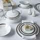 Crestwood Platinum Dinnerware by Noritake