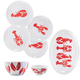 Lobster Series Collection by Living Art