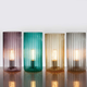 Rido Ribbed Hurricane Lamp Collection