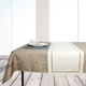 Faux Linen Table Linens Collection