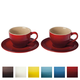 Cappuccino Cup and Saucer Collection by Le Creuset
