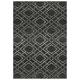 Vermont Element Carpet Collection - Black & Grey