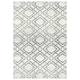Vermont Element Carpet Collection - White & Grey