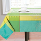 Scroll Crest Fabric Table Linens